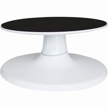 SCHNEIDER Torten- und Dekorierplatte, drehbar, Ø 30 Farbe: weiß, Höhe: 160 mm