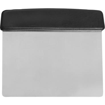 SCHNEIDER Spachtel mit steifer Klinge, Edelstahl Maße: 130 x 135 mm, schwarzer Griff