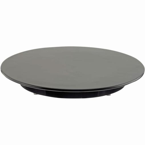 SCHNEIDER Tortenplatte, Melamin, schwarz