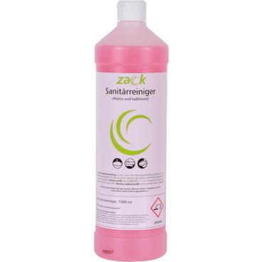 ZACK Sanitärreiniger 1 Karton = 12 Flaschen á 1000 ml