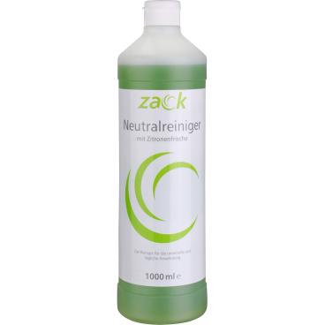 ZACK Neutralreiniger mit Zitronenfrische 1 Karton = 12 Flaschen á 1000 ml