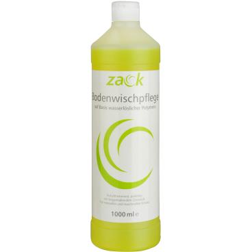 ZACK Bodenwischpflege 1 Karton = 12 Flaschen á 1000 ml