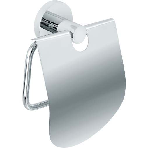 Nicol EOS WC-Rollenhalter mit Deckel, Messing verchromt