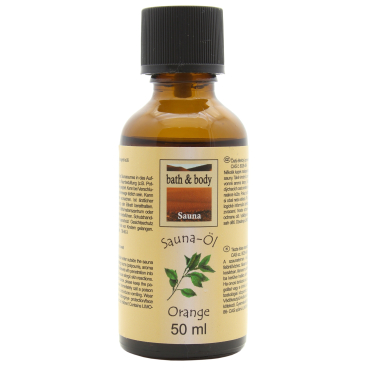 Nicol Saunaöl, 50 ml Orange