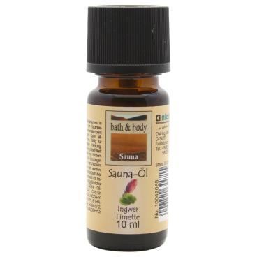 Nicol Saunaöl, 10 ml Ingwer-Limette