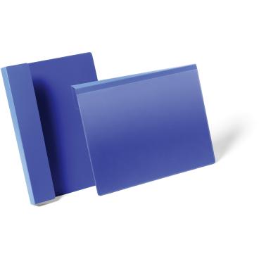 DURABLE Kennzeichnungstasche mit Falz 1 Packung = 50 Stück, A4 quer