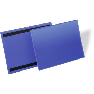 DURABLE Magnetische Kennzeichnungstasche 1 Packung = 50 Stück, Innenformat: A4 quer
