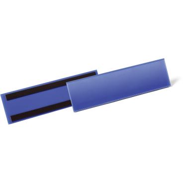 DURABLE Magnetische Etikettentasche, blau