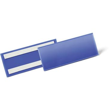 DURABLE Selbstklebende Kennzeichnungstasche 1 Packung = 50 Stück, Innenformat: 1/2 A5 quer