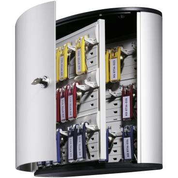 DURABLE KEY BOX Schlüsselkasten Für 36 Schlüssel, Maße: 302 x 280 x 118 mm