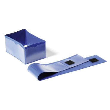 DURABLE Palettenfußbanderole 1 Packung = 50 Stück, (B x H): 145 x 75 mm