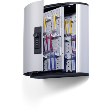 DURABLE KEY BOX CODE Schlüsselkasten Für 36 Schlüssel, Maße: 302 x 280 x 118 mm