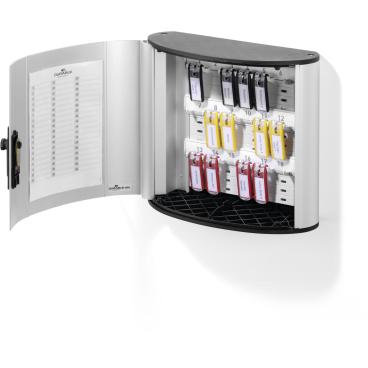DURABLE KEY BOX CODE Schlüsselkasten Für 18 Schlüssel, Maße: 302 x 280 x 118 mm