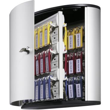 DURABLE KEY BOX Schlüsselkasten Für 54 Schlüssel, Maße: 302 x 280 x 118 mm