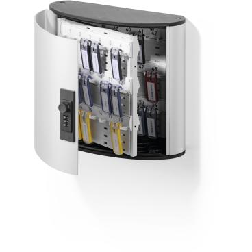 DURABLE KEY BOX CODE Schlüsselkasten Für 54 Schlüssel, Maße: 302 x 280 x 118 mm