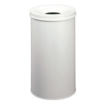 DURABLE Papierkorb Safe, 60 Liter Farbe: grau