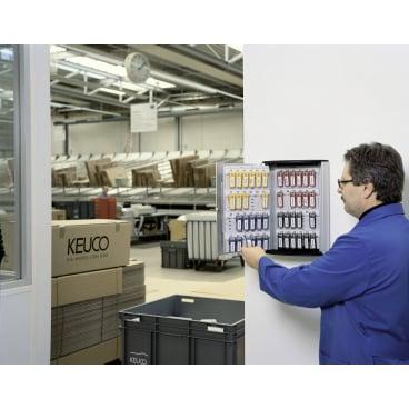 DURABLE KEY BOX Schlüsselkasten Für 72 Schlüssel, Maße: 302 x 400 x 118 mm