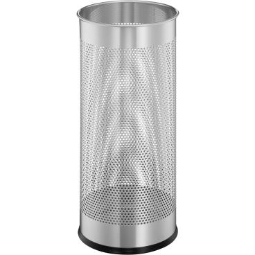 DURABLE Schirmständer Metall, 28,5 Liter Farbe: metallic silber