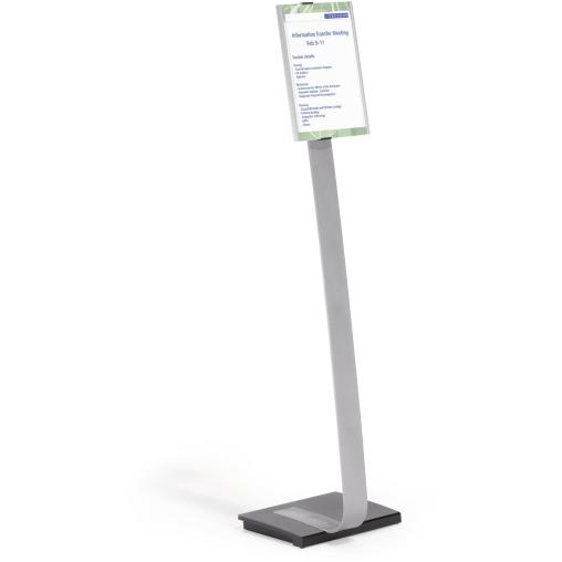 DURABLE INFO SIGN Stand A4 Bodenständer