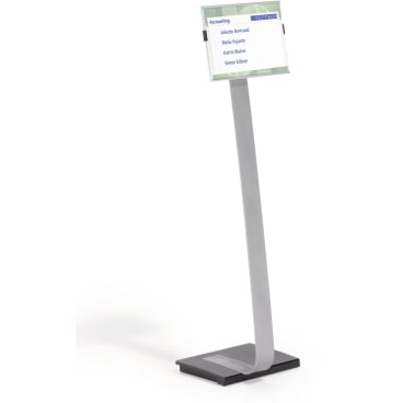 DURABLE INFO SIGN stand A4 Bodenständer Farbe: metallic silber