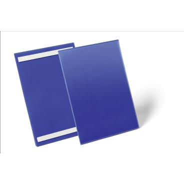 DURABLE Selbstklebende Kennzeichnungstasche 1 Packung = 50 Stück, Innenformat: A4 hoch