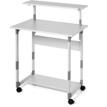 DURABLE Computertisch 80 VH Farbe: grau
