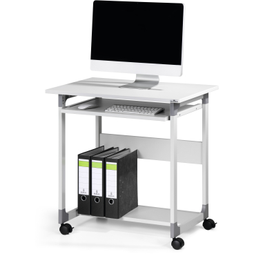 DURABLE Computertisch 75 FH Farbe: grau