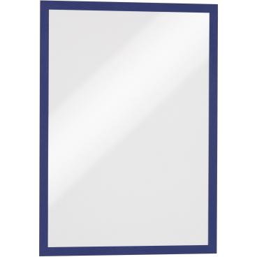 DURABLE DURAFRAME® MAGNETIC A3 Info-Rahmen 1 Beutel = 5 Stück, Farbe: blau
