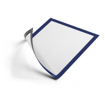 DURABLE DURAFRAME® MAGNETIC A4 Info-Rahmen 1 Beutel = 5 Stück, Farbe: blau
