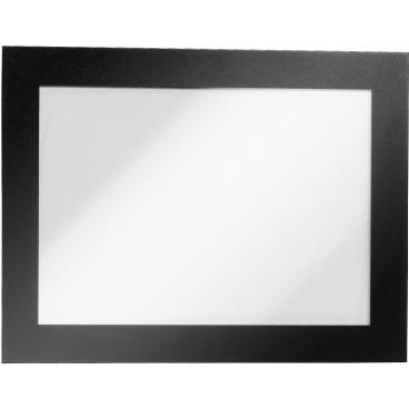 DURABLE DURAFRAME® A6 Info-Rahmen 1 Beutel = 2 Stück, Farbe: schwarz