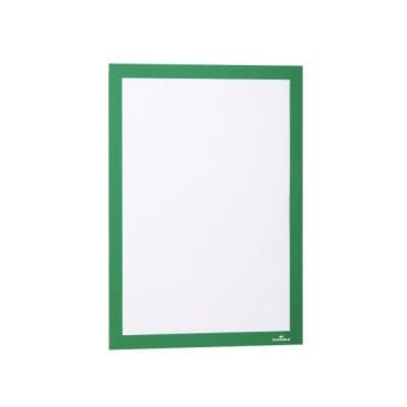 DURABLE DURAFRAME® A4 Info-Rahmen 1 Packung = 10 Stück, Farbe: grün