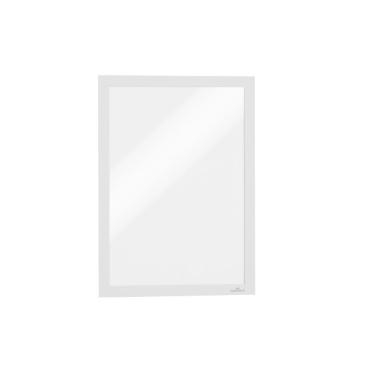 DURABLE DURAFRAME® A4 Info-Rahmen 1 Packung = 10 Stück, Farbe: weiß