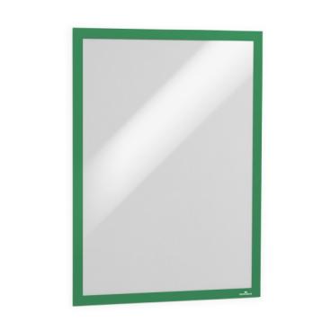 DURABLE DURAFRAME® A3 Info-Rahmen 1 Packung = 6 Stück, Farbe: grün