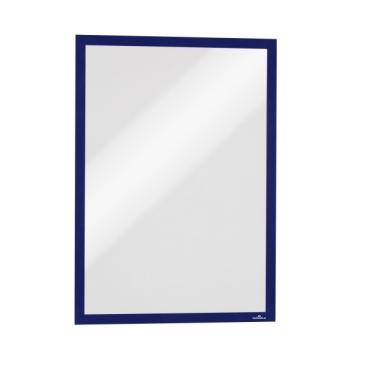 DURABLE DURAFRAME® A3 Info-Rahmen 1 Packung = 6 Stück, Farbe: blau