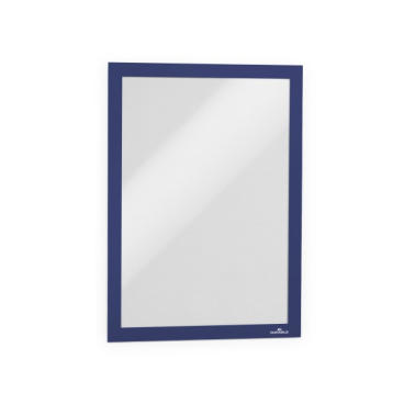 DURABLE DURAFRAME® A4 Info-Rahmen 1 Stück, einzeln verpackt, Farbe: blau