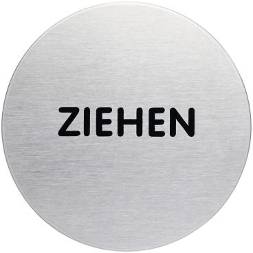 "DURABLE PICTO Piktogramm ""ZIEHEN"", Ø 83 mm"