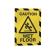 DURABLE DURAFRAME® SECURITY A4 Info-Rahmen 1 Beutel = 2 Stück, Farbe: gelb/schwarz