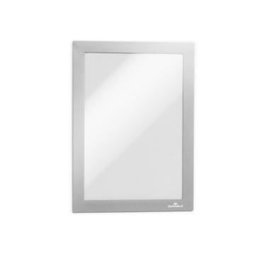 DURABLE DURAFRAME® A5 Info-Rahmen 1 Packung = 10 Stück, Farbe: metallic silber