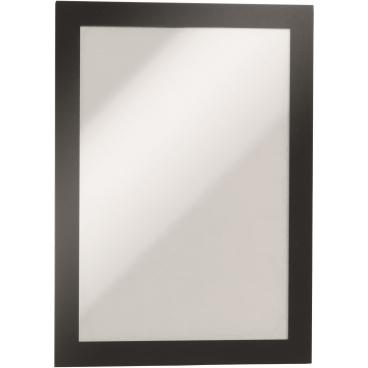 DURABLE DURAFRAME® MAGNETIC A5 Info-Rahmen 1 Beutel = 5 Stück, Farbe: schwarz