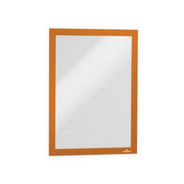 DURABLE DURAFRAME® A4 Info-Rahmen 1 Packung = 10 Stück, orange