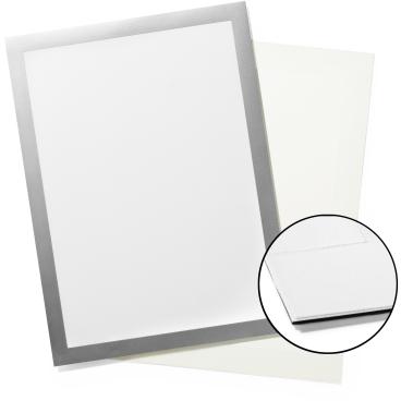 DURABLE DURAFRAME® GRIP A4 Info-Rahmen Farbe: metallic silber