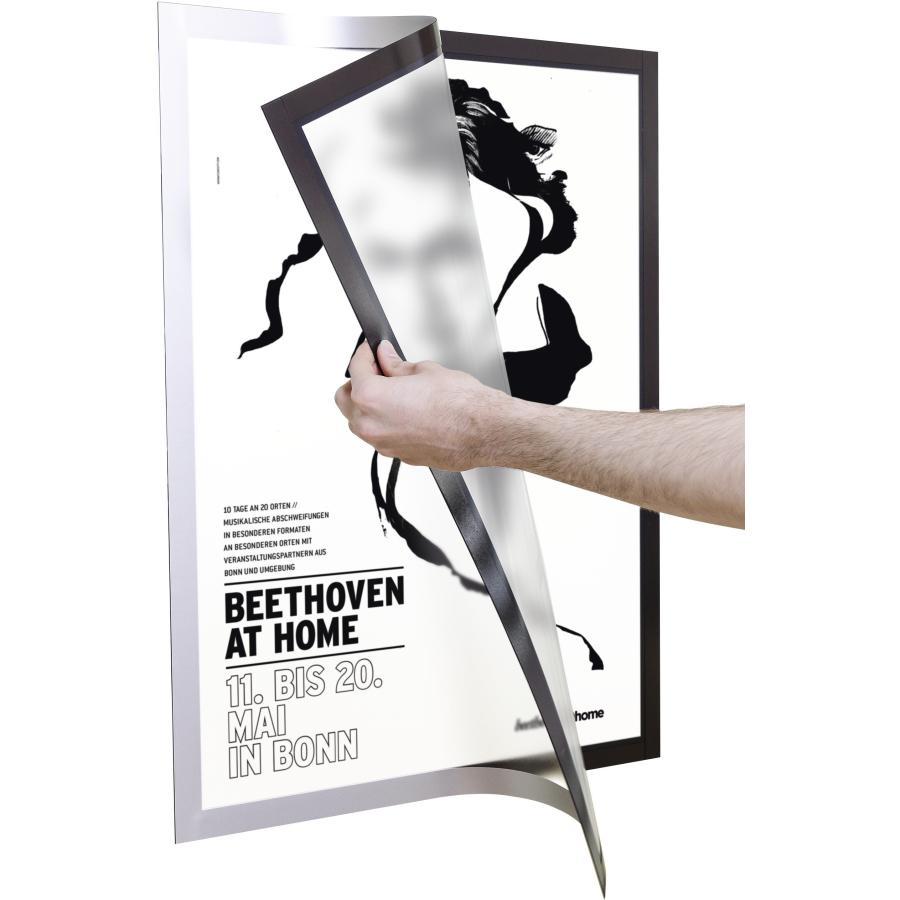 DURABLE DURAFRAME® POSTER A2 Info-Rahmen, Farbe: schwarz online ...