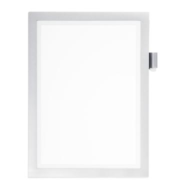 DURABLE DURAFRAME® NOTE A4 Info-Rahmen Farbe: metallic silber