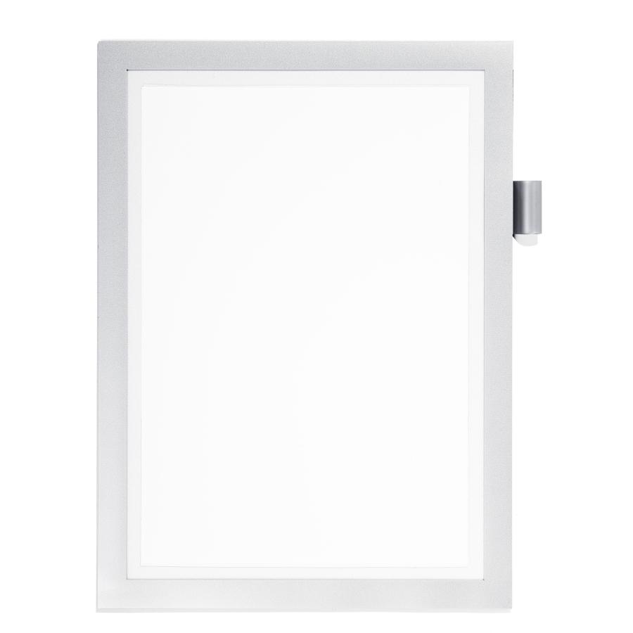 DURABLE DURAFRAME® NOTE A4 Info-Rahmen, Farbe: metallic silber ...