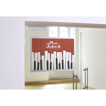 DURABLE Duraframe® Poster A2 Info-Rahmen Farbe: schwarz