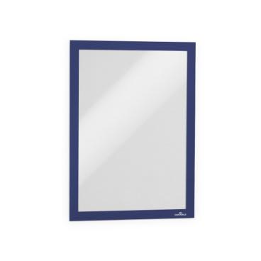 DURABLE DURAFRAME® A4 Info-Rahmen 1 Packung = 10 Stück, Farbe: blau