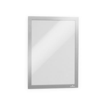 DURABLE DURAFRAME® A4 Info-Rahmen 1 Stück, einzeln verpackt, Farbe: metallic silber