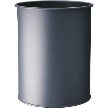 DURABLE Papierkorb Metall, 15 Liter Farbe: anthrazit