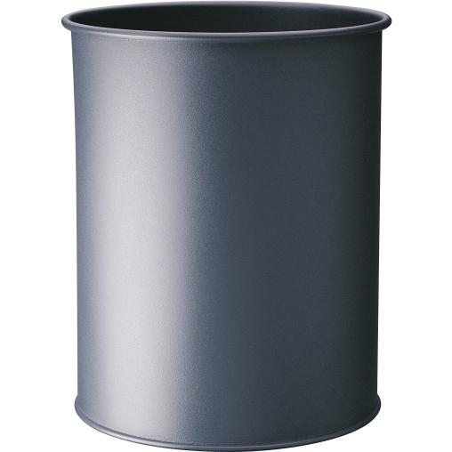 DURABLE Metall Papierkorb, 15 Liter
