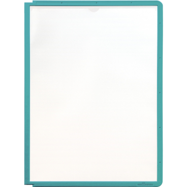 DURABLE SHERPA® PANEL A4 Info-Rahmen 1 Packung = 5 Stück, Farbe: grün